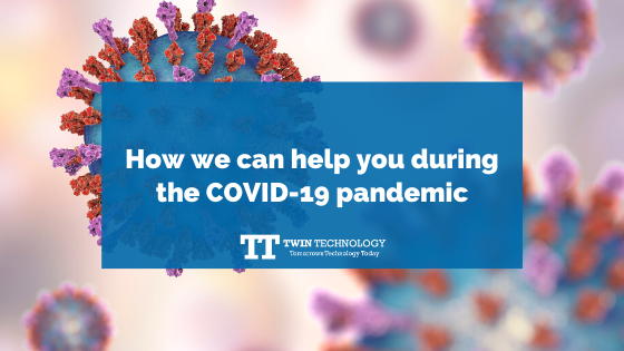 How we can help you during the COVID-19 pandemic
